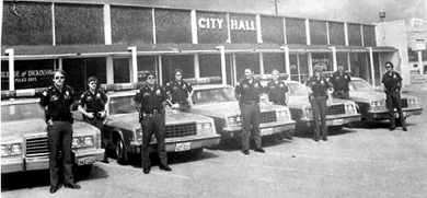 Original Dickinson Police Department Officers, January 1, 1983