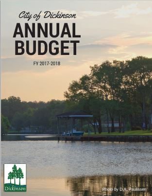 FY17-18 Budget Cover