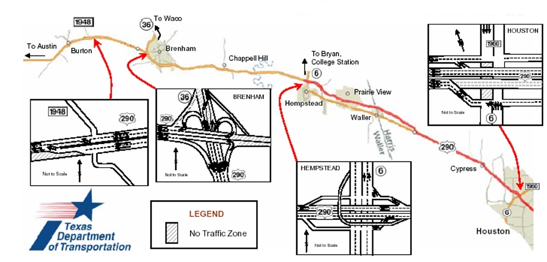 Evacuation Plan for US Highway 290