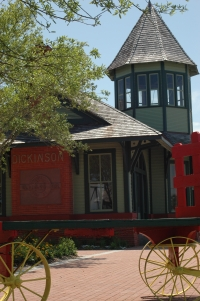 Railroad Depot Entrance