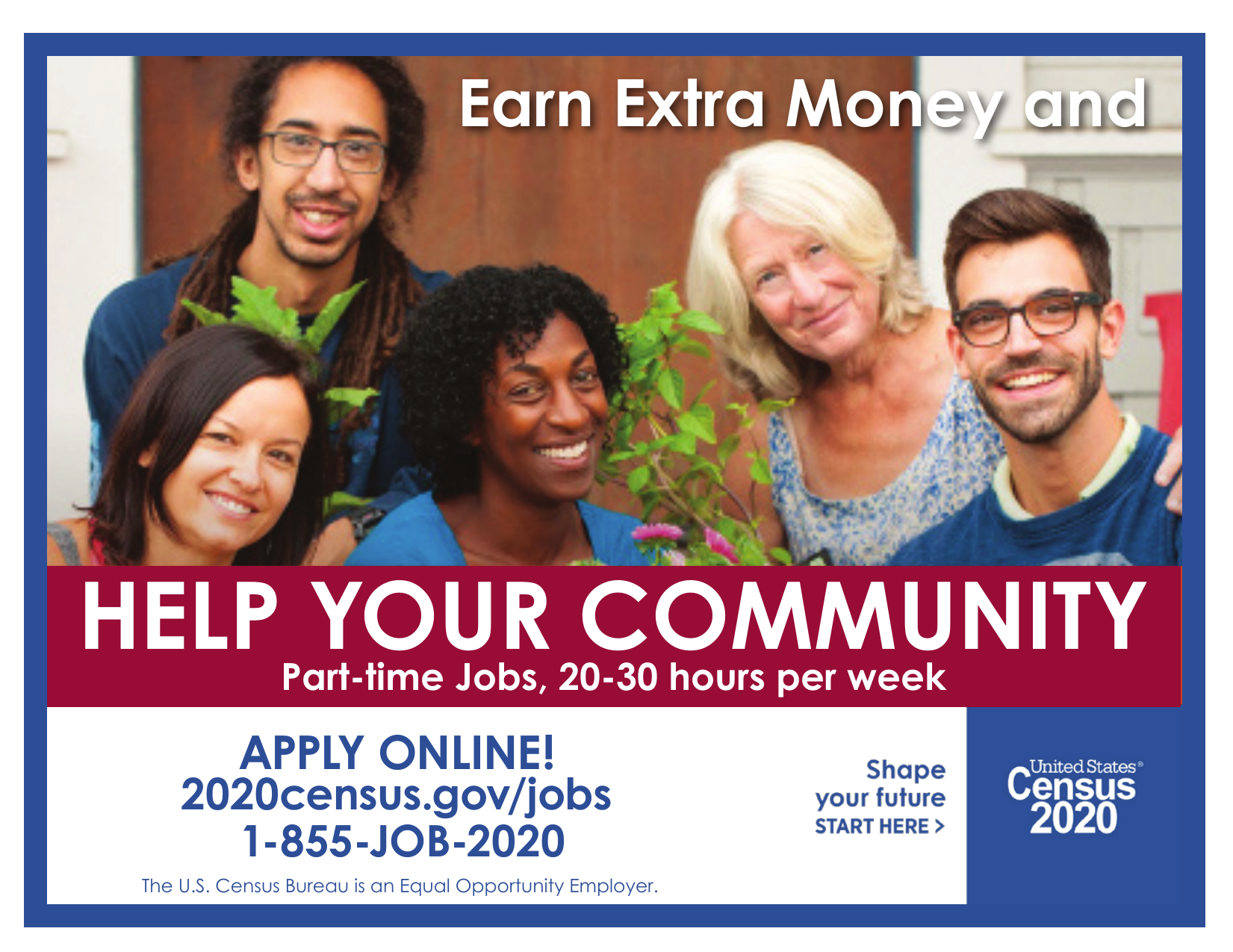 Earn Extra Money because a census taker