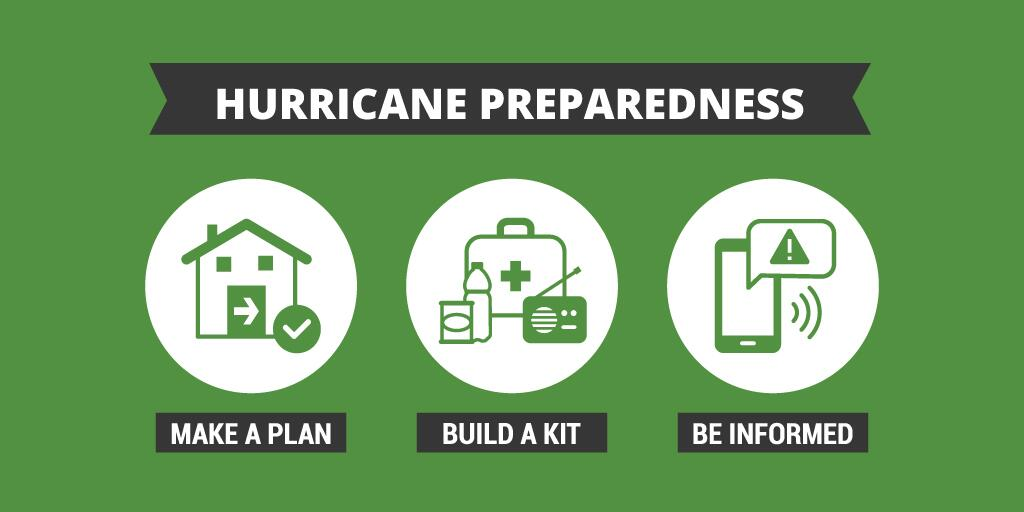 ready.gov - hurricane prep