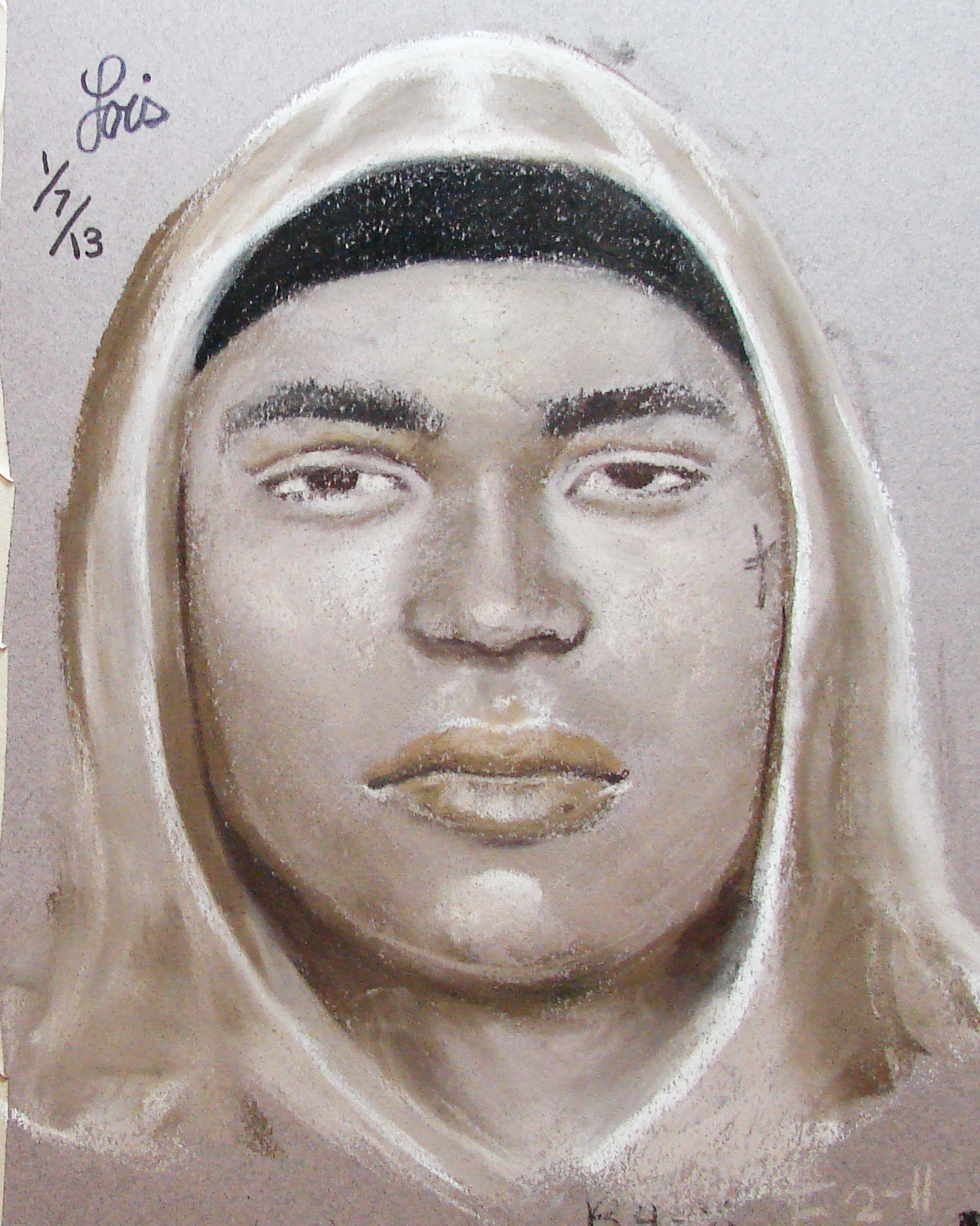 Suspect Sketch - January 3, 2013